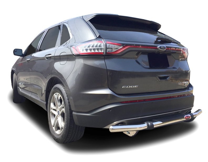 ford edge rear bumper guard pintle style  stainless steel idfr automotive
