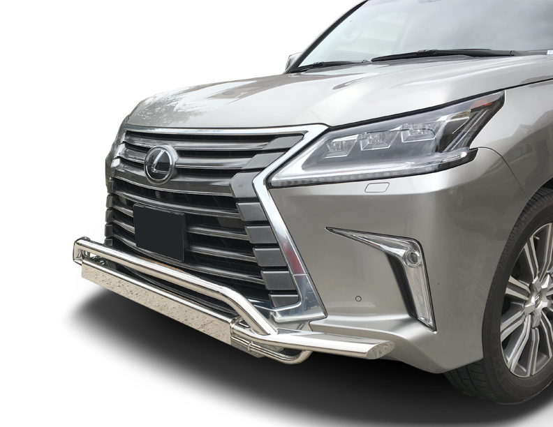 2015-2018 Lexus LX570 Front Runner Bumper Guard in Stainless Steel  (Mustache Bar)