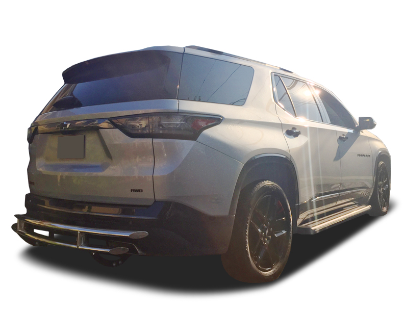 2019-2021 Chevy Blazer R66 Running Boards with Integrated ...