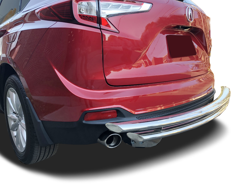 2019-2021 Acura RDX Rear Bumper Guard Double Layer - IDFR ...