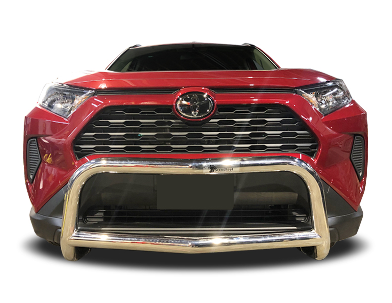 2019-2021 Toyota Rav4 A-Bar / Nudge Bar in Stainless Steel ...