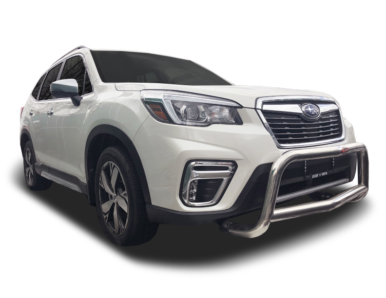 2019-2021 Subaru Forester 2.5″ A-Bar / Nudge Bar in Stainless Steel 🆕 – IDFR Automotive