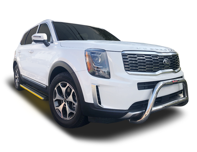 2020-2021 Kia Telluride R66 Running Boards with Integrated ...