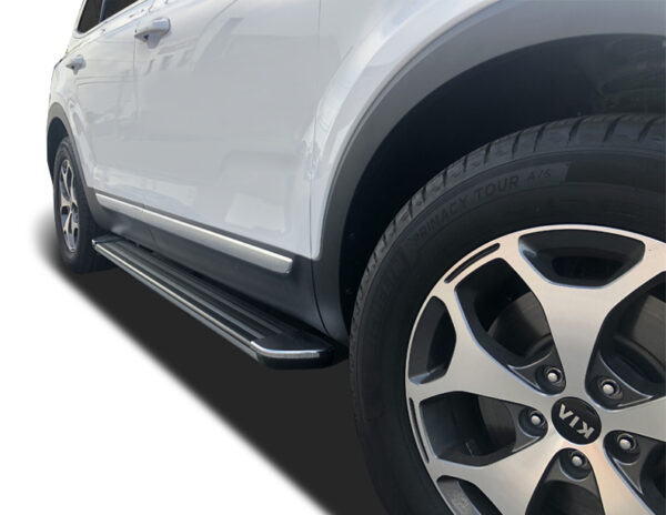 2020 2021 Kia Telluride R77 Running Boards In Black Idfr