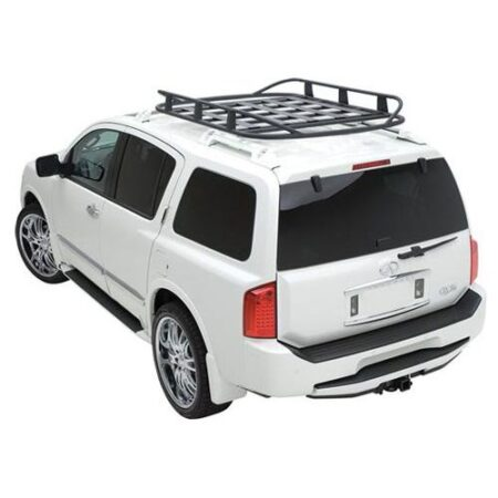 Smittybilt RUGGED RACK ROOF BASKET - 50 in. X 70 in. - 250 LB RATING - BLACK UNIVERSAL 17185